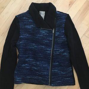 Anthropologie wool moto jacket